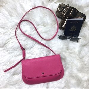 HOBO Pink Built in Wallet Crossbody